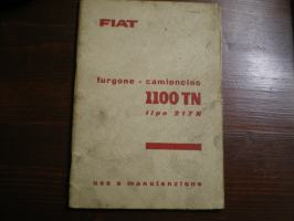 Fiat 1100 tn furgone camioncino tipo 217 n